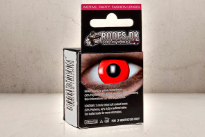 Kontaktlinser - Rød Solid